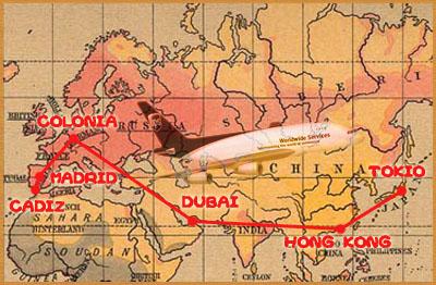 Mapa UPS Jones